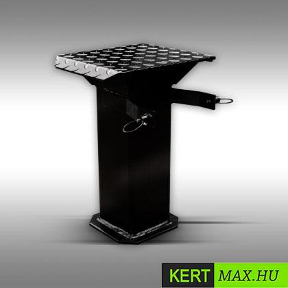 fahasító, tüzifahasító, rönkhasító, Kohler motor, hidraulikus fahasító, vágóasztal,