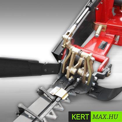 kasza adapter hidraulikus mini kotró kaszálógép alternáló késes fűnyíró kistraktor magasfűnyíró aljnövénytisztitó